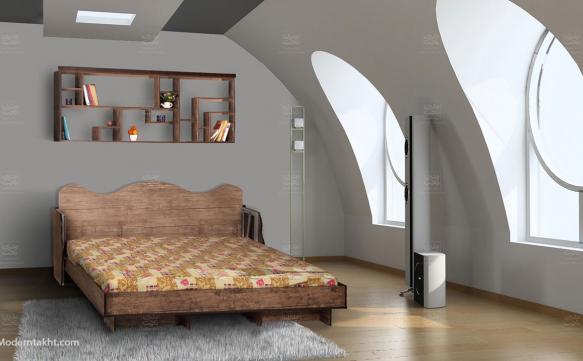 تخت افقی کم هزینه