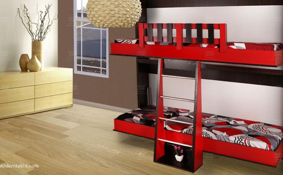 Horizontal Wall Bunk Bed